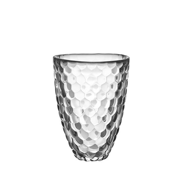 【Orrefors】オレフォス RASPBERRY フラワーベース S / 花瓶 北欧デザイン シンプル ガラス 透明 ラズベリー