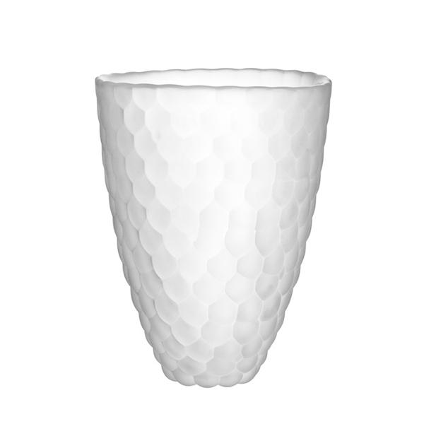 【Orrefors】オレフォス RASPBERRY フラワーベース L / 花瓶 北欧デザイン シンプル ガラス 透明 ラズベリー