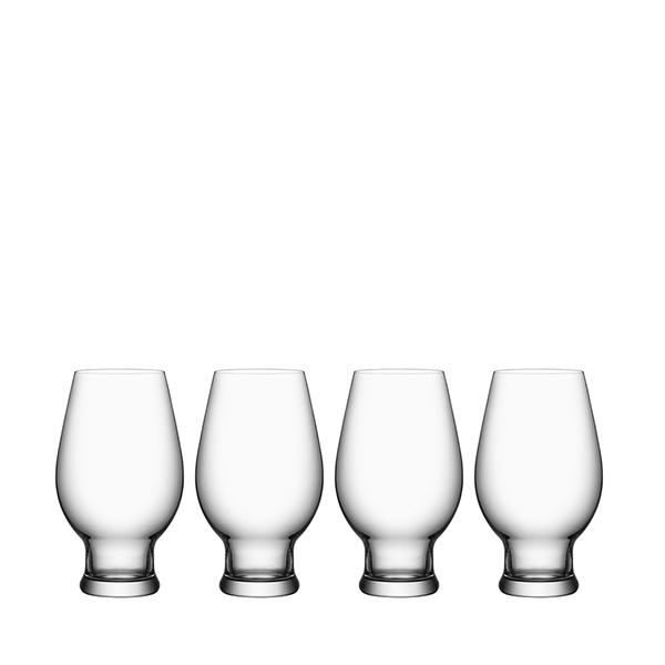 【Orrefors】オレフォス BEER IPA 4Pセット/ ビールグラス 北欧デザイン シンプル 上質 ギフト 送料無料