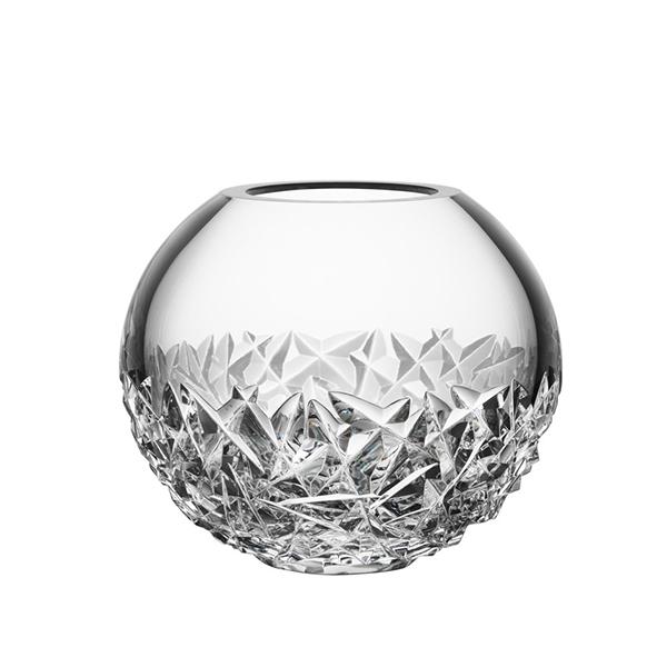 【Orrefors】オレフォス CARAT フラワーベースL;/ 花瓶 北欧デザイン シンプル ガラス 透明