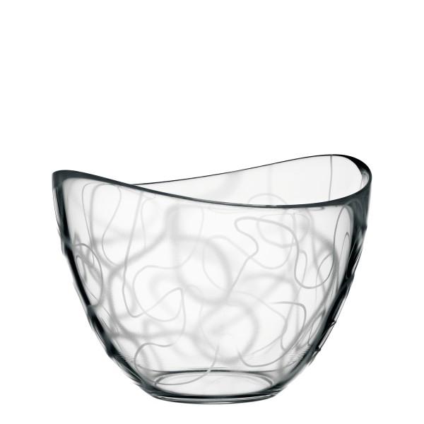 【Orrefors】オレフォス POND TANGLE ボウル(M)/ 北欧食器 ガラス シンプル ギフト 普段使い