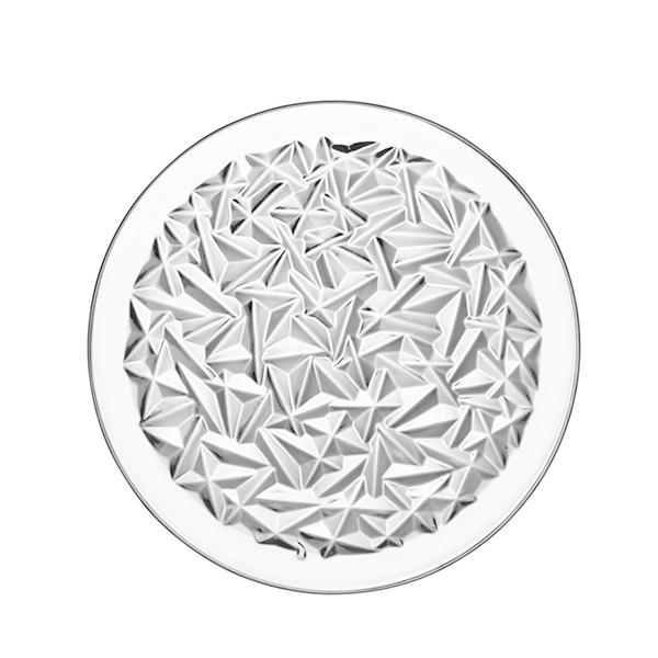スウェーデン オレフォスの上質なテーブルウエア 北欧 インテリア 雑貨 北欧食器 Orrefors オレフォス 買い取り シンプル プレート φ27 2020 新作 ガラス ギフト M 普段使い CARAT