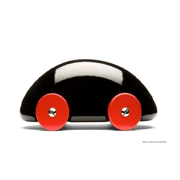 PLAYSAM(プレイサム)Streamliner Black 12655/ おもちゃ オブジェ 車 木製 シンプル 北欧 ギフト