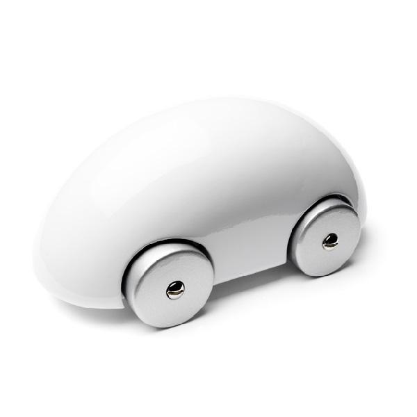 PLAYSAM(プレイサム)Streamliner White 12660/ おもちゃ オブジェ 車 木製 ギフト