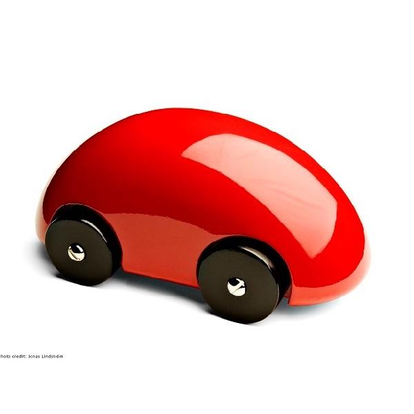 PLAYSAM(プレイサム)Streamliner Red 13232/ おもちゃ オブジェ 車 木製 シンプル 北欧 ギフト