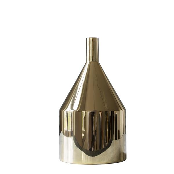 SKULTUNA(スクルツナ) Via Fondazza フラワーベースC No.781 / 花瓶 北欧デザイン シンプル スタイリッシュ オブジェ インテリア 真鍮