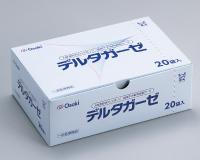 オオサキメディカル株式会社X線造影材入りスポンジ『滅菌デルタガーゼ 40mm×55mm 8ply 2枚入(20袋)』(発送までに7~10日かかります・ご注文後のキャンセルは出来ません)