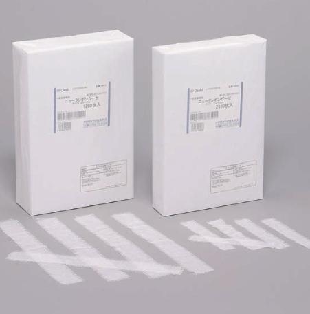 オオサキメディカル株式会社『ニュータンポンガーゼ 2cm×15cm 平 2560枚入』【一般医療機器】(発送までに7~10日かかります・ご注文後のキャンセルは出来ません)