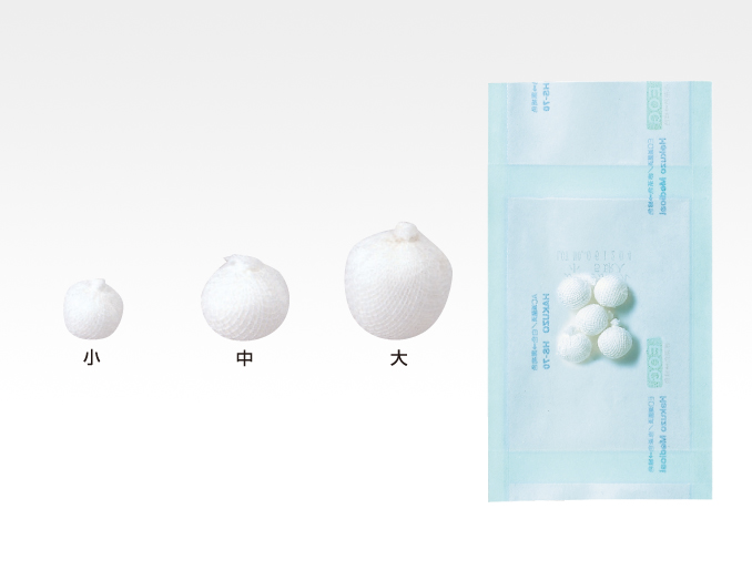 ハクゾウメディカル株式会社【2270001】ガーゼボール 大 100球