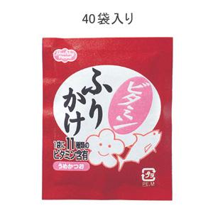 ヘルシーフード株式会社ビタミンふりかけ うめかつお 2.5gx40 25袋(発送までに7~10日かかります・ご注文後のキャンセルは出来ません)