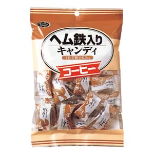 ヘルシーフード株式会社ヘム鉄入りキャンディ コーヒー 40粒 24袋(発送までに7~10日かかります・ご注文後のキャンセルは出来ません)