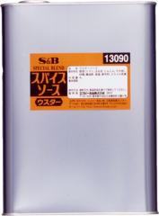 国内発送 S&Bスパイスソースウスター 4L×4個【受注生産品】(発送までに7~10日かかります・ご注文後のキャンセルは出来ません), 関市 89f91e7d