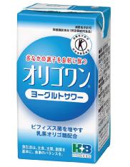 【機能性乳酸菌付き】H+Bライフサイエンスオリゴワン ヨーグルトサワー 125ml×96本(4ケース)【特定保健用食品(トクホ) 】(発送までに7~10日かかります・ご注文後のキャンセルは出来ません)