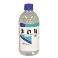 健栄製薬ケンエー氷酢酸 500ml×20本セット(1ケース)【この商品は発送までに7-10日程度かかる場合がございます】