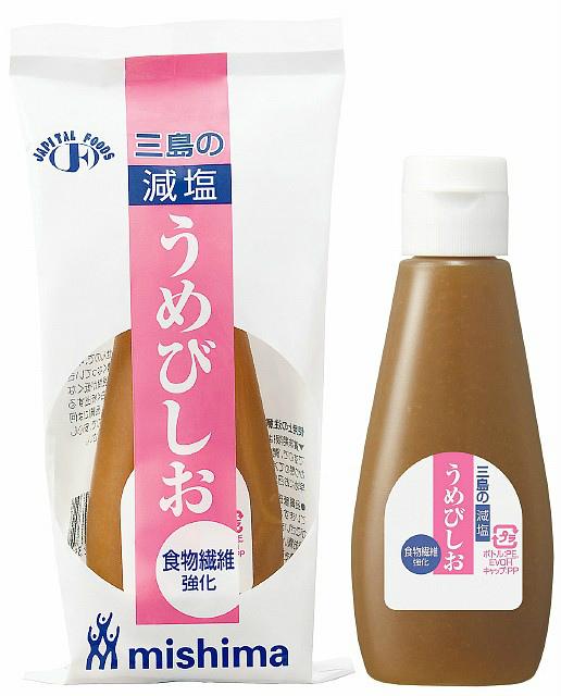 三島食品株式会社ミニボトル入り 食物繊維強化 減塩 うめびしお 120g × 30【JAPITALFOODS】(発送までに7~10日かかります・ご注文後のキャンセルは出来ません)