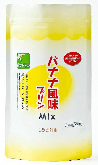 【ポイント10倍!要エントリー】株式会社レシピ計画バナナ風味プリンMix 500g × 20【JAPITALFOODS】