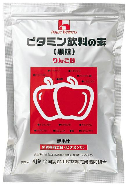 ハウスウェルネスフーズビタミン飲料の素 りんご味400g × 10【JAPITALFOODS】(ご注文後のキャンセルは出来ません)