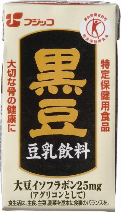 フジッコ株式会社黒豆豆乳飲料(125ml×36本)+大豆芽茶(195g×60本)セット【特定保健用食品】(この商品は発送までに3-7日かかる場合がございます)