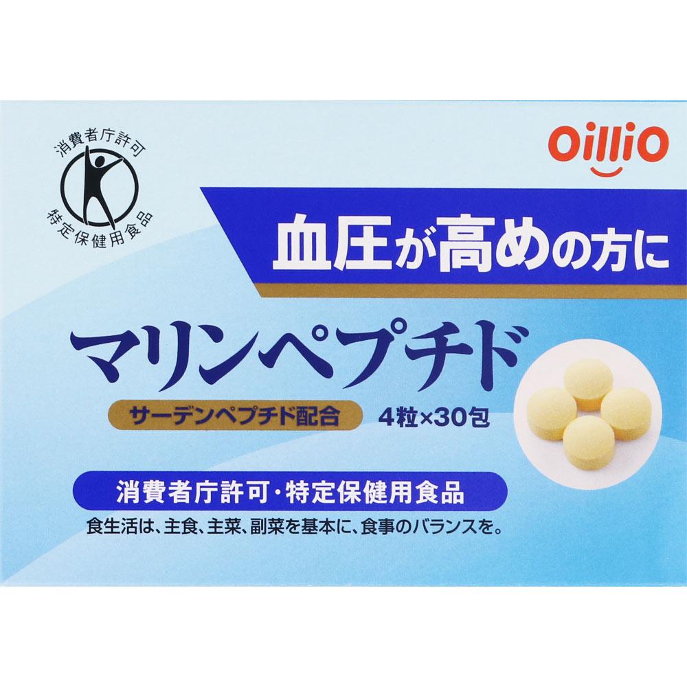 日清オイリオグループ株式会社 マリンペプチド 4粒×30包×3個セット(特定保健用食品)
