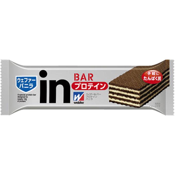 【P】森永製菓ウイダーinバープロテインインバニラ 36g×144本~もっとプロテイン(たんぱく質)の量を摂りたい! もっと食べ応えがほしいという方に~【食品】