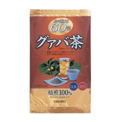 【スーパーSALE開催中!】オリヒロ株式会社徳用グァバ茶 2g×60包×40個セット