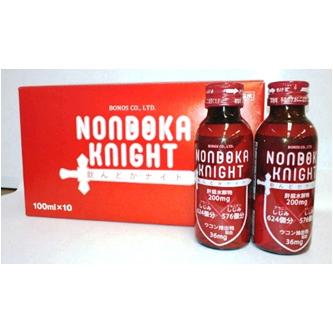 中外医薬生産株式会社飲んどかナイト<NONDOKAKNIGHT>(100ml×10本)×10箱【清涼飲料水】 【この商品は注文後のキャンセルができません。】