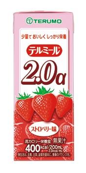 テルモテルミール2.0アルファ200ml(TM-T20020A・ストロベリー味)24個入(発送までに7~10日かかります・ご注文後のキャンセルは出来ません)