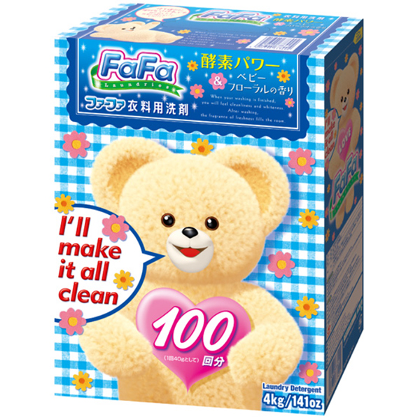 NSファーファ・ジャパン株式会社ファーファ洗剤 4.0kg×12個