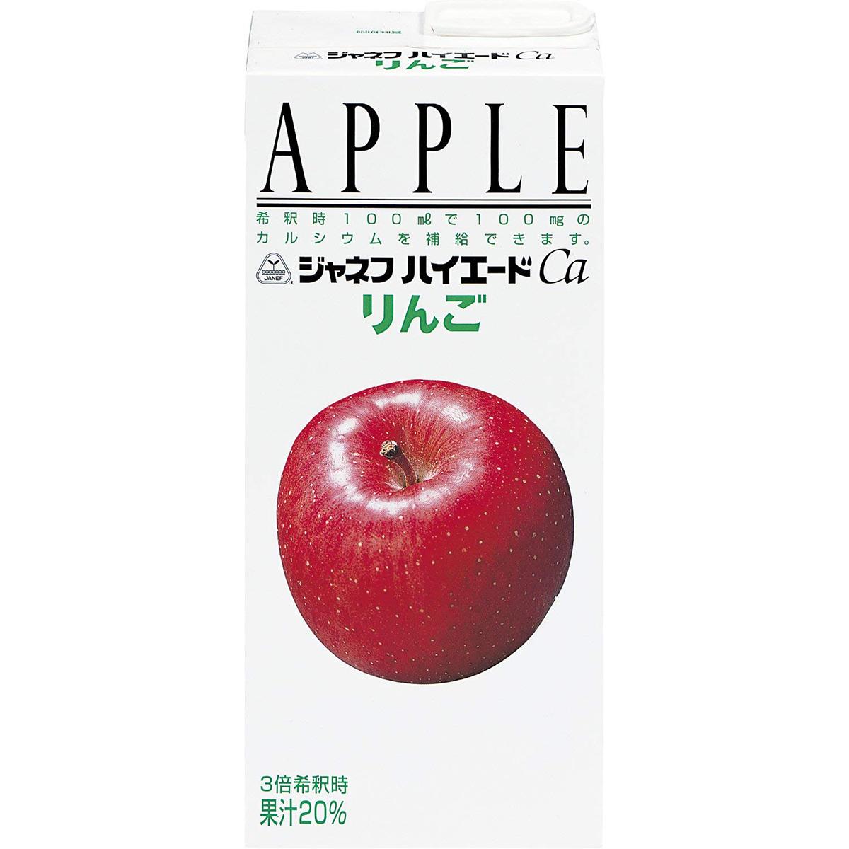 キューピージャネフハイエードCa・りんご 1L×18本セット【病態対応食:ミネラル補給食品・カルシウム】【この商品は発送までに1週間前後かかります】【ご注文後のキャンセルが出来ません】