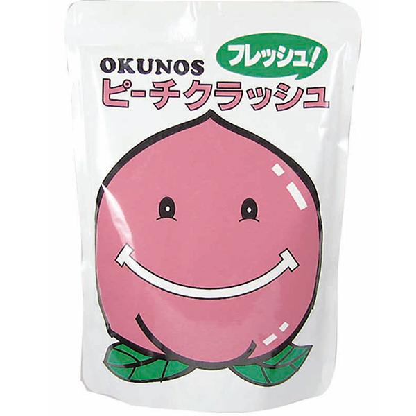 ホリカフーズ株式会社 オクノス(OKUNOS)ピーチクラッシュ 350g×20袋(発送までに7~10日かかります・ご注文後のキャンセルは出来ません)