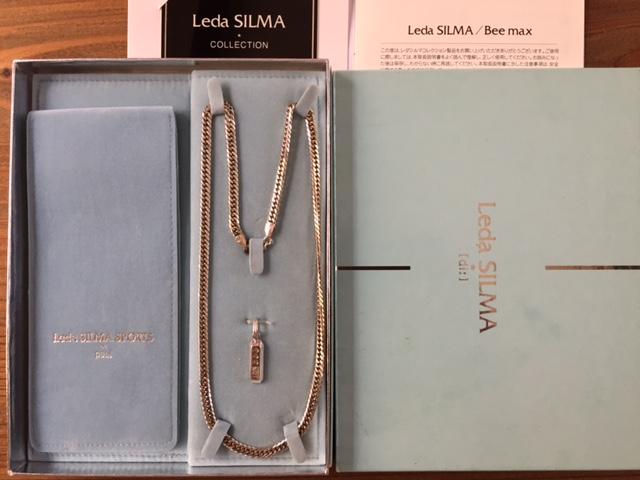 レダシルマ ダイヤモンド インゴットネックレス