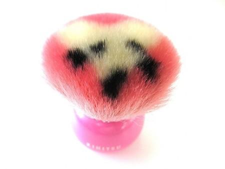 送料無料 熊野筆 喜筆 干支シリーズ 子パウダーブラシ 化粧ブラシ 化粧品 化粧筆 メイクブラシ メイク パウダー ブラシ ギフト