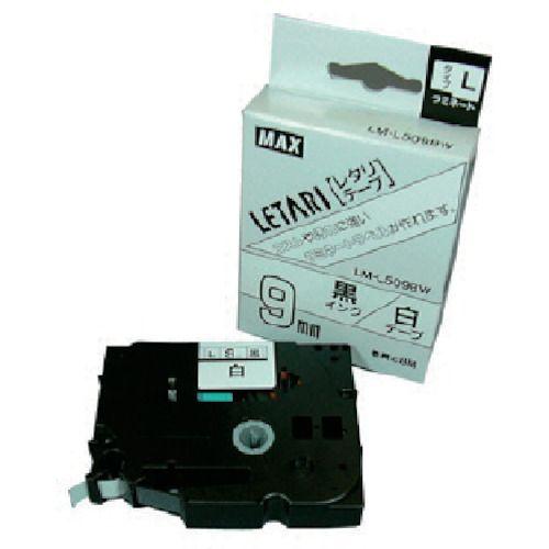 MAX ラベルプリンタ ギフト プレゼント マーケティング ご褒美 ビーポップミニ 9mm幅テープ 7147 LM-L509BW 白地黒字