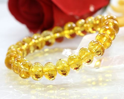 product jewelry citrine watches gold overstock bracelet today shipping yellow free