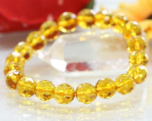 Citrine Bracelet Natural Stone Quartz Stones Fs3gm