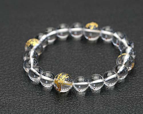 4 Crystal Bracelet Asashoryu Suzaku Xuan Wu White Tiger Fengshui Four S Beasts Taio Carved Strongest Money