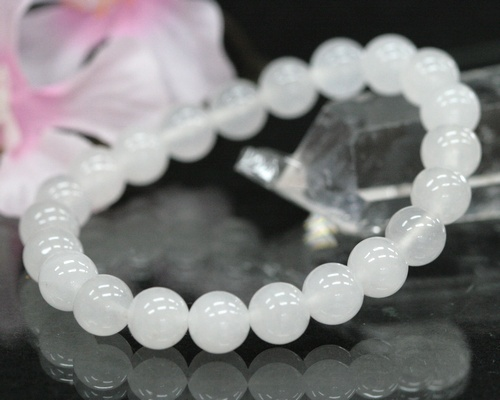 The White Jade Jeh Whump Pull Bracelet Ditchless Let Breath Neff Light Nature Stone Friendship Is Pure
