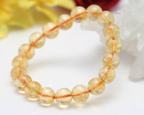 シトリン ブレスレット 黄水晶 ブレスレット|シトリン 黄水晶 ブレスレット|送料無料|シトリンブレスレット|黄水晶ブレスレット|天然石 水晶 パワーストーン|