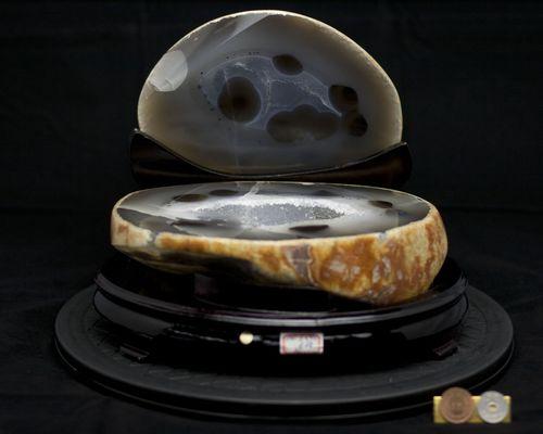 天然瑪瑙|トレジャーメノウ|瑪瑙聚宝盆|聚宝盆|メノウ原石|ジオード|天然石|原石|メノウ|開運|風水|一点限定|逸品|天然瑪瑙聚宝盆|風水|空間浄化|神秘のパワーストーン