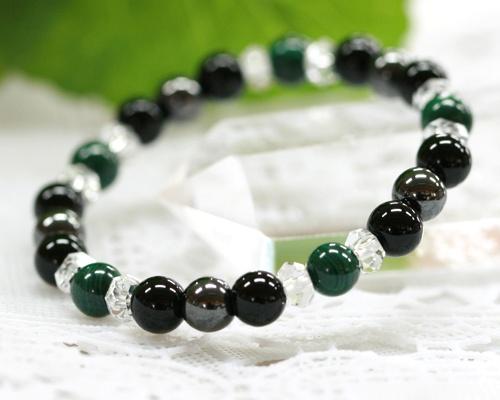 Malachite Onyx Hemae Crystal Bracelet Bracelets Kids Natural Stone Children Charm