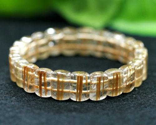 タイチンルチル ブレスレット ゴールドルチルバングル ブレスレット 金針水晶 ブレスレット 針水晶 ブレスレット|天然石|パワーストーン|針水晶|ルチル|ルチルクォーツ