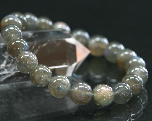 Labradorite Bracelet Aaa Grade 8 Mm Beads