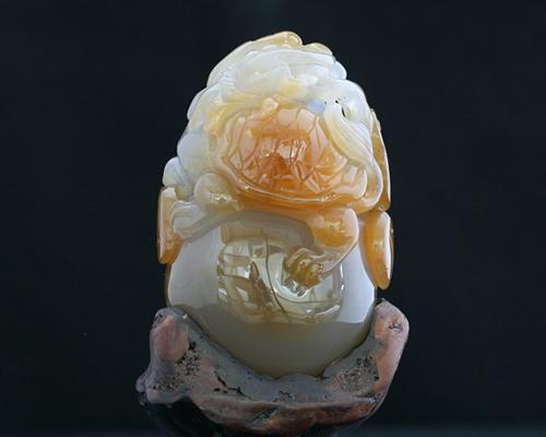 天然石瑪瑙置物|メノウ 貔貅|亀|ヒキュウ置物|パワーストーン彫刻品|風水アイテム 開運アイテム|貔貅彫り置物|亀モチーフ|送料無料
