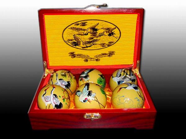 中国の伝統的な健康器具の一つ!仙鶴大全健身球【太極拳】【健身球】