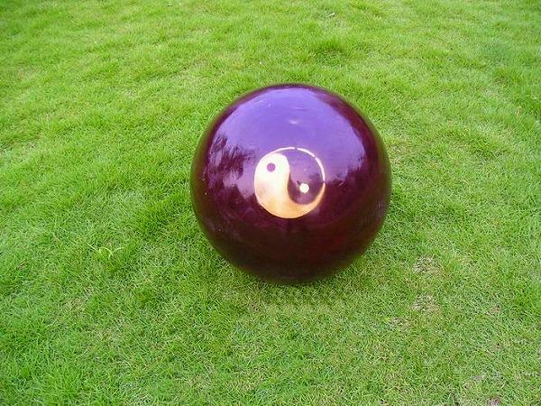 【太極拳】【太極球】実木棗木実心太極