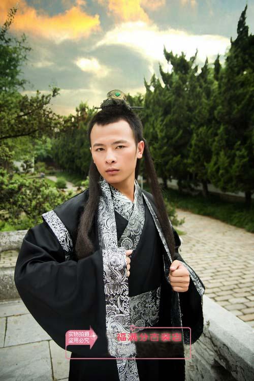 中国伝統の皇帝服(宮廷服) 武侠服+はおり2セット