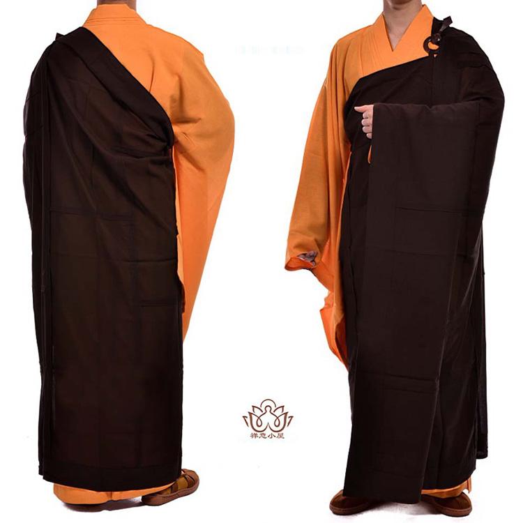 非常に珍しい仏教服!仏教僧服三衣の七衣 和尚服七衣(肩掛けはおり)