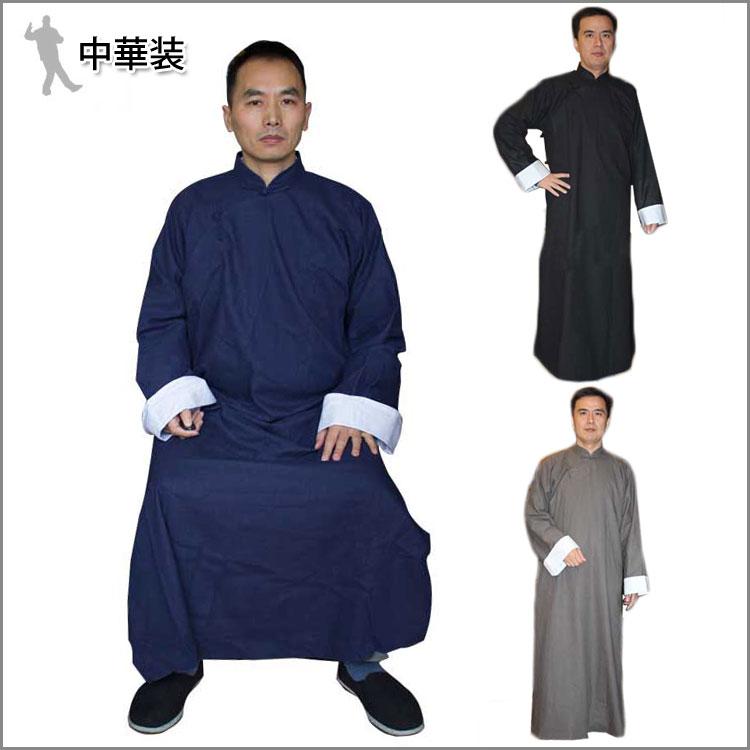 今すぐ道士になりたいあなたへ!古装 中華装 功夫装長袍 綿麻