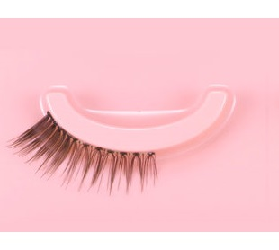 装饰的睫毛 (装饰睫毛) 玩玩的女孩 (花花) 可爱 (可爱 play)No.6 5 双假睫毛 (眼睛) SE85141