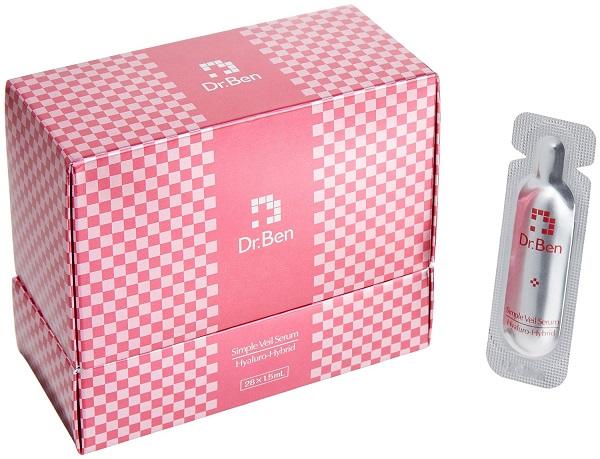 在日本新品牌 Dr.Ben(doctor Ben) 晕混合简单 ver HH28 血清 (血清) 28 天 W 功能美的本质